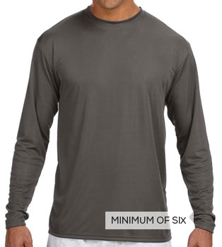 3c1798660f72 Hanes Cool DRI Long Sleeve Performance Tee | DesignAShirt