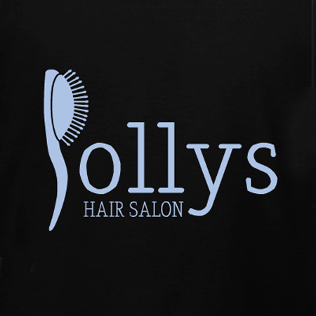 Polly 39 s hair salon t shirt design for Beauty salon t shirts