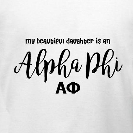 83f8aa00 Alpha Phi Dad T-Shirt Design | DesignAShirt