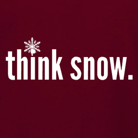 Holiday Think Snow