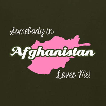 Somebody in Afghanistan loves me