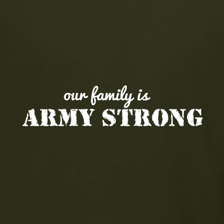 our family is army strong