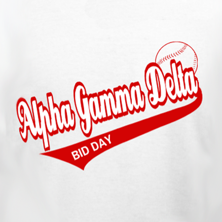 Alpha Gamma Delta Baseball Bid Day
