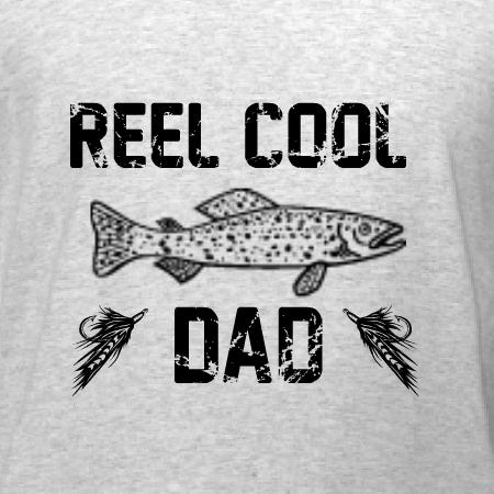 56a8c870 Reel Cool Dad T-Shirt Design   DesignAShirt